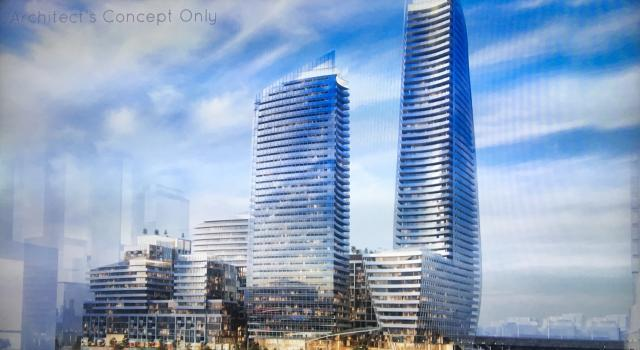 Lakeside Residences Building View Toronto, Canada