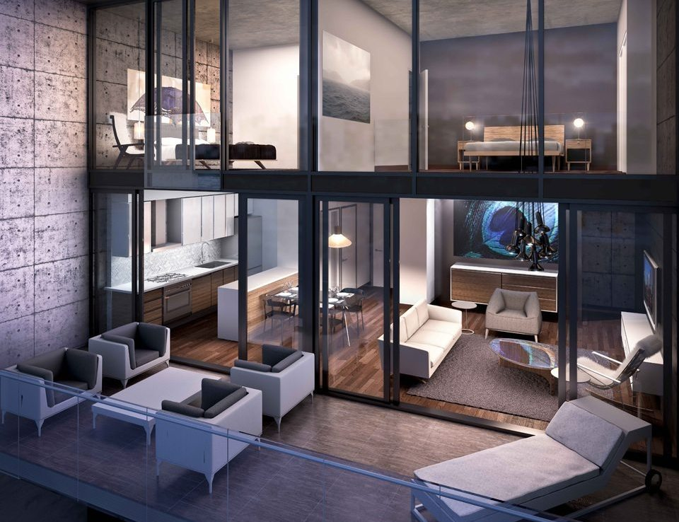 oneeleven Condominiums Balcony Toronto, Canada