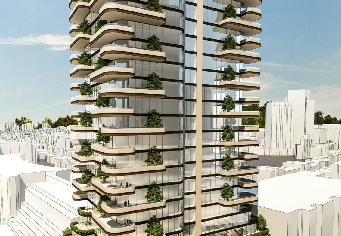 33 Avenue Road Condos in Toronto, designed by BBB and Giannone Petricone for First Capital and Greybrook