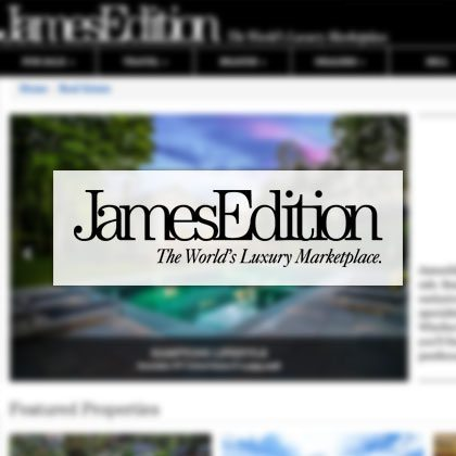 James Edition. The World's Luxury Marketplace.