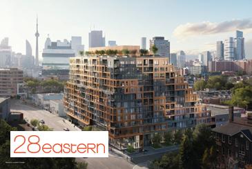 28 Eastern Condos in Toronto.