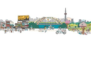 Illustration of Southport in Swansea Toronto