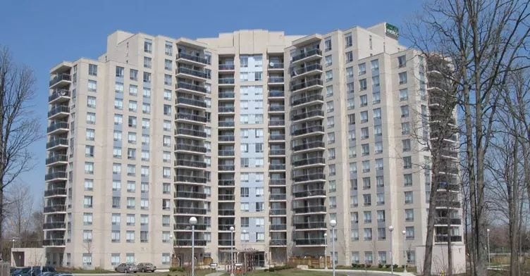 Exterior image of the 121 Parkway Forest Drive in Toronto