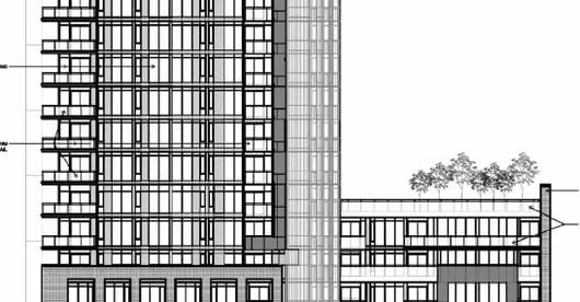 Exterior image of the 406 Adelaide Street East in Toronto