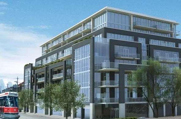 Exterior image of theCorktown District II in Toronto