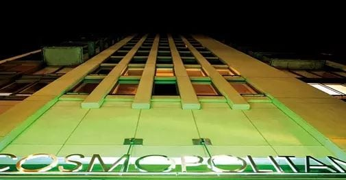 Exterior image of theCosmopolitan in Toronto