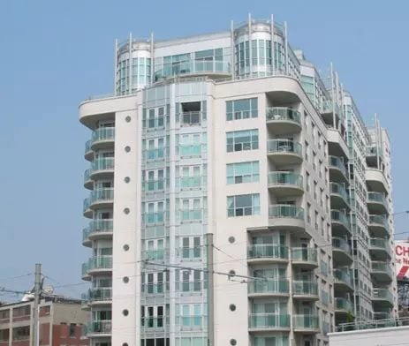 Exterior image of the Queens Harbour Tower II in Toronto
