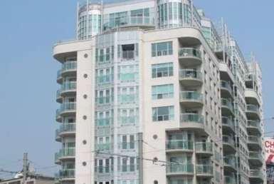 Exterior image of the Queens Harbour Tower II in Toronto