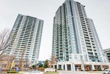 Exterior image of the Residences of Avondale Condos in Toronto