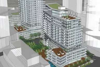 Exterior image of the Waterways Phase 1 in Toronto