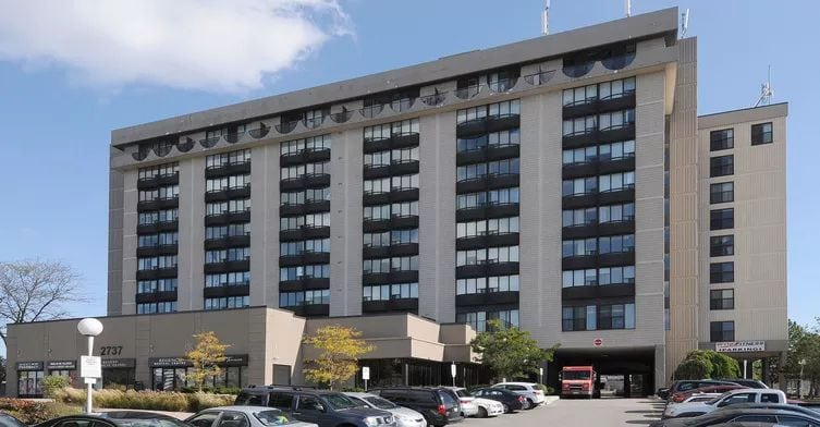 Exterior image of the Westmount in Toronto