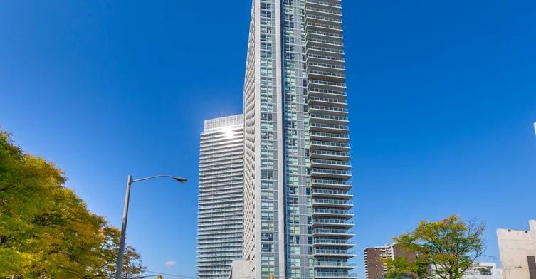 Exterior image of the Yorkland at Herons Hill in Toronto
