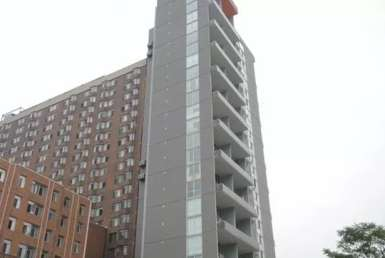 Exterior image of the Gerrard Place in Toronto