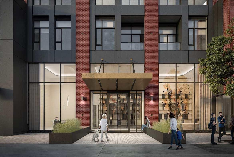 Rendering of Artworks Tower Condos Entrance