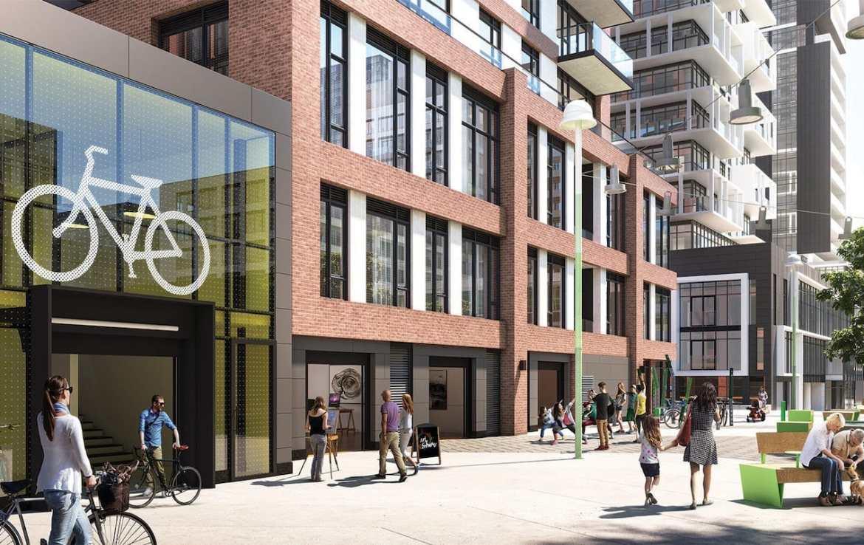 Rendering of Artworks Tower Condos Living Lane