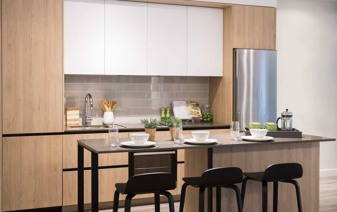 Rendering of Artworks Tower Condos Kitchen