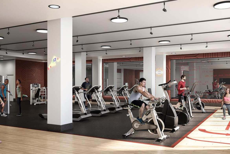 Rendering of Artworks Tower Condos Gym