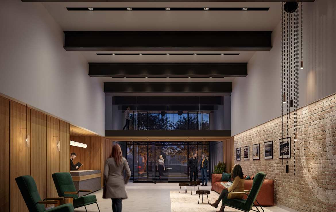Stockyards District Residences Lobby