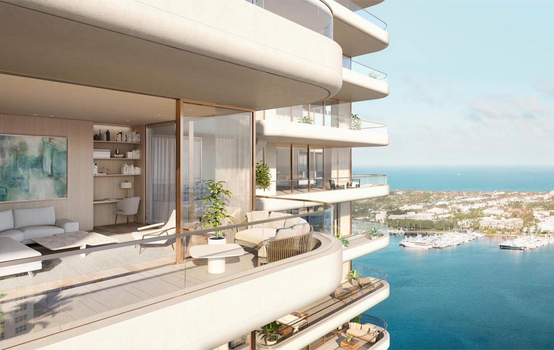 La Clara Residences suite terrace
