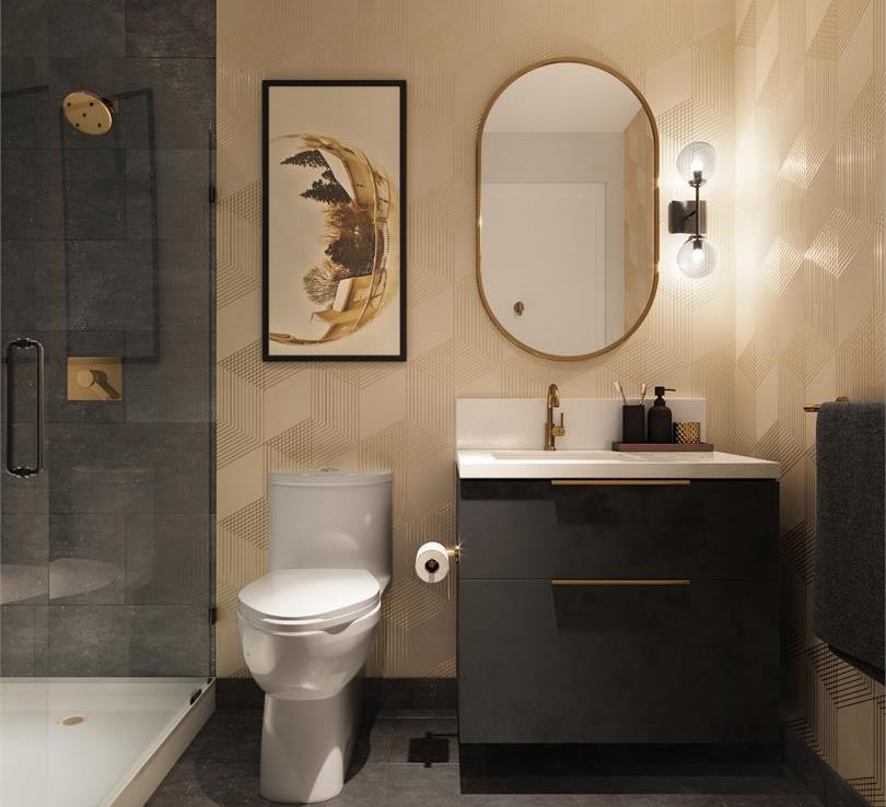 The Poet Condos Bathroom