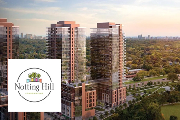 Notting Hill Condos in Etobicoke