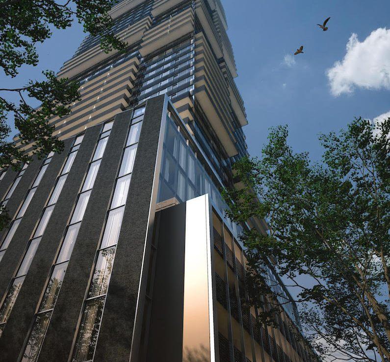 Rendering of 55C Bloor Yorkville Residences Full Tower