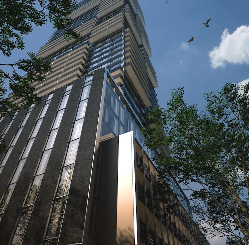 Rendering of 55C Bloor Yorkville Residences Full Tower