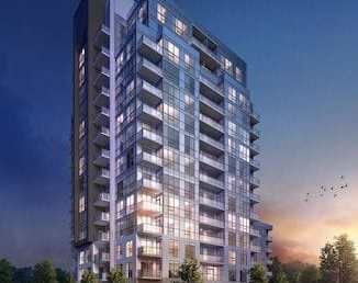 Exterior Rendering of Tricycle Condos