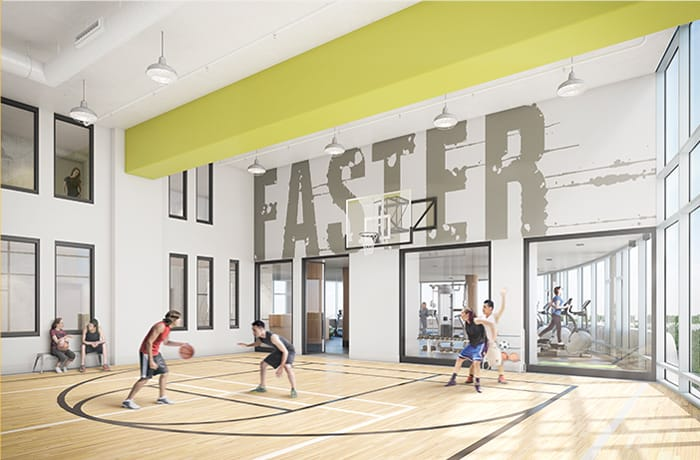 Parc Towns Gym with Basketball Court