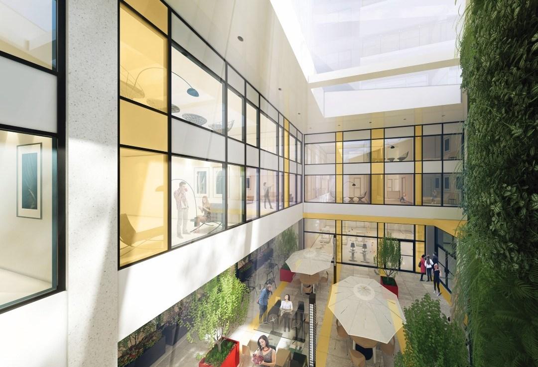 Sage Kingston Building Atrium