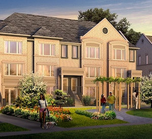 Exterior Rendering of Daniels FirstHome Sunny Meadow Townhomes