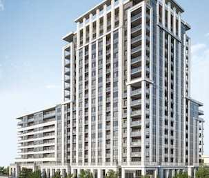 Exterior Rendering of Eight Cedarland Condos
