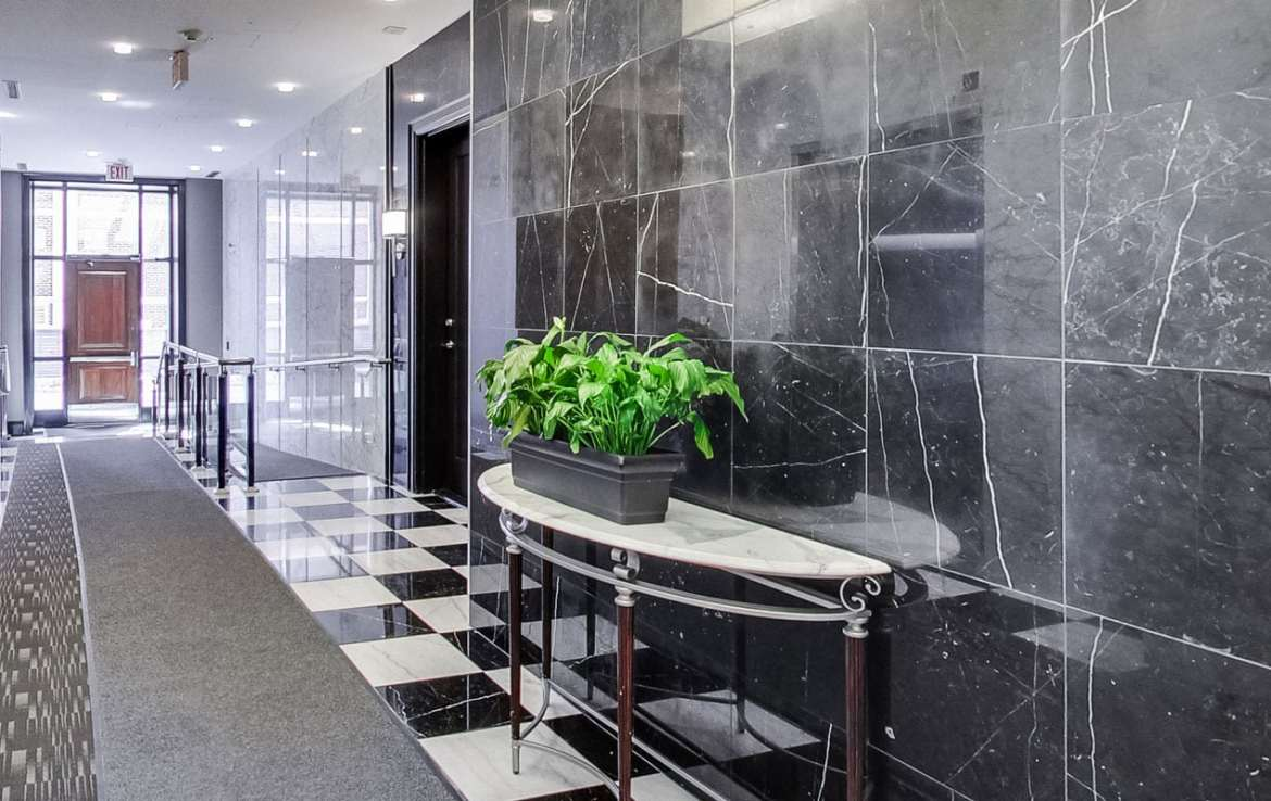 The Loretto Condos and Towns Lobby and Elevators