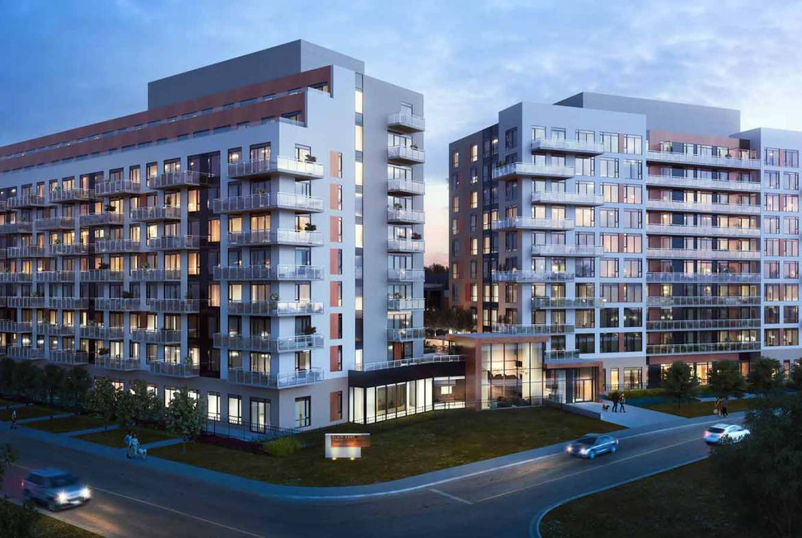 Exterior Rendering of NEXT Phase Condos