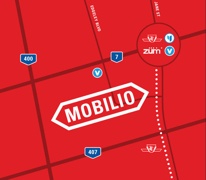 Mobilio Condos Map