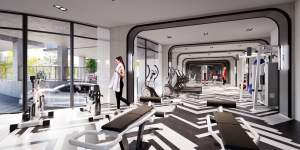 Rendering of The Dylan Fitness Centre