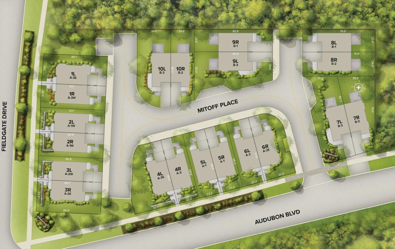 Chroma Towns Siteplan