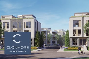 Exterior Rendering of Clonmore Urban Towns