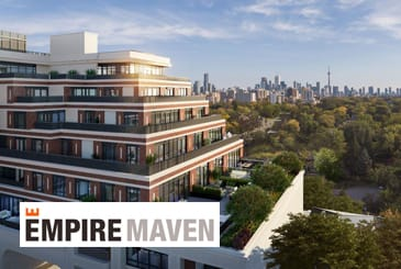 Rendering of Empire Maven Condos Toronto