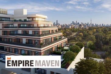 Rendering of Empire Maven Condos Toronto