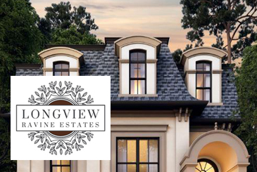 Longview Ravine Estates Rendering with Logo Overlay