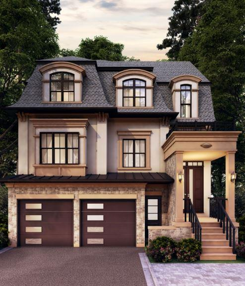 Rendering of a Longview Ravine Estates Detached Home