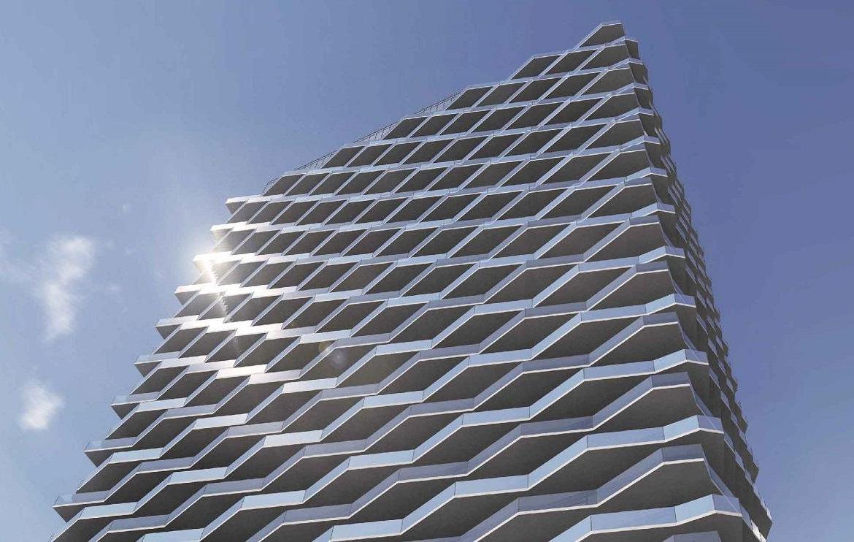 Building Siding Rendering of Thirty Six Zorra Condos