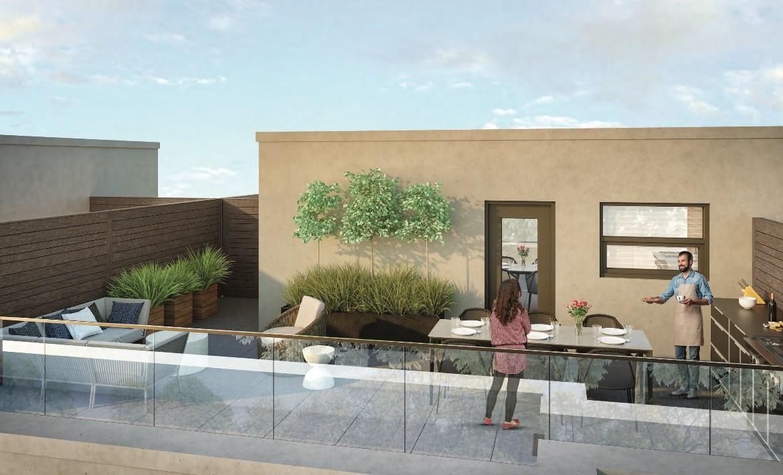 Eleven Altamont Towns Rooftop Terrace