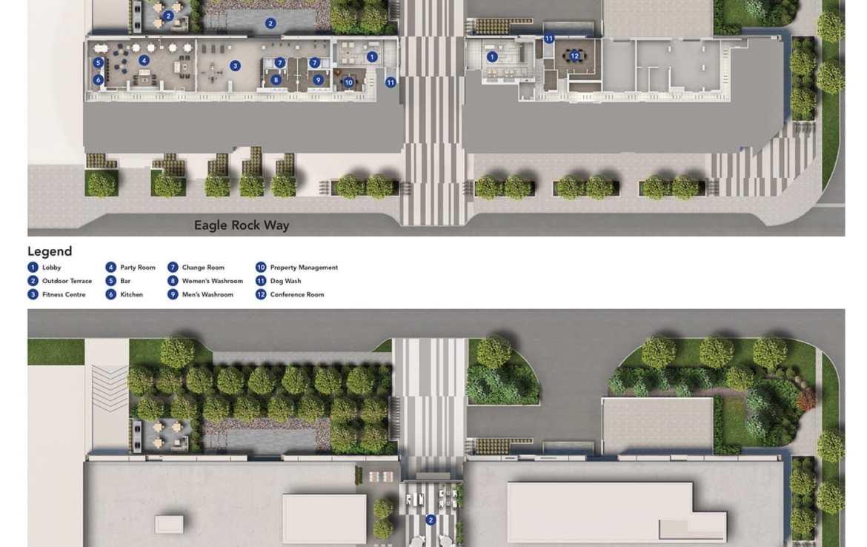 Site plan of GO.2 Condos.