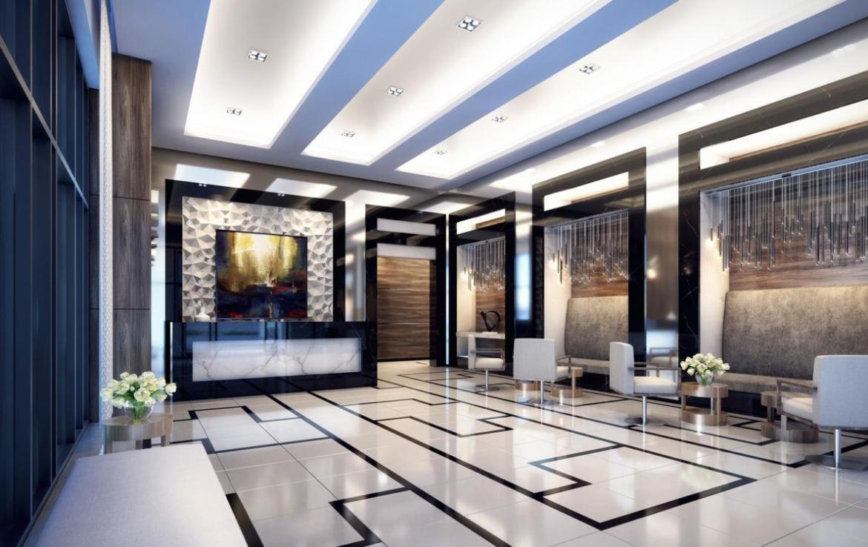 Lobby rendering of GO.2 Condos.