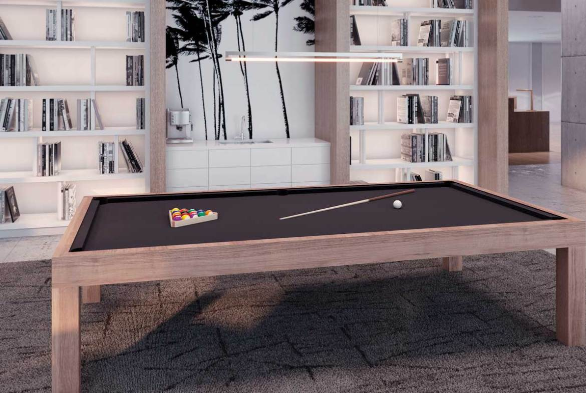 Pool table rendering of Sixty-Five Broadway Condos.
