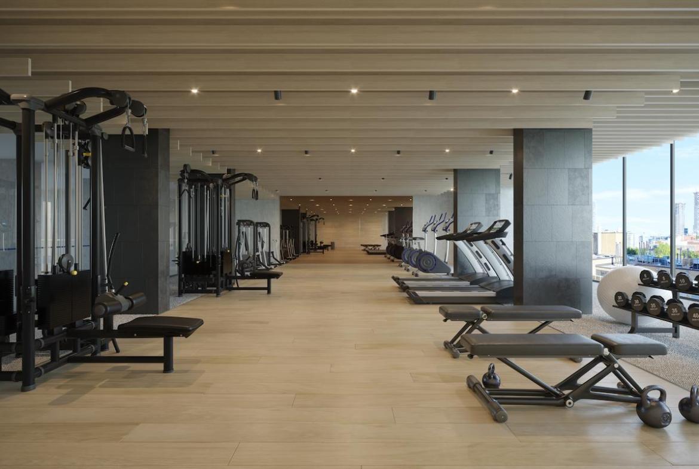 The Saint Condos fitness centre