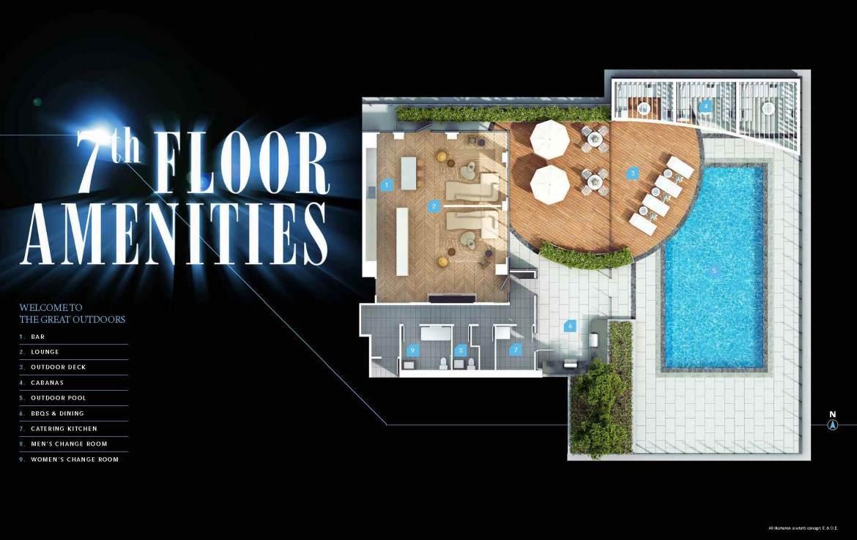 Universal City 3 Condo 7th Floor Amenities