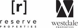 Developer logos of Reserve Properties and Westdale Properties